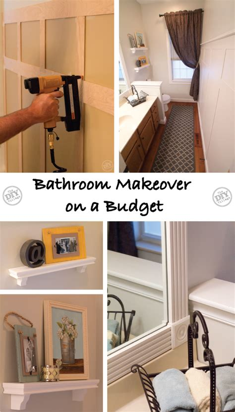 bathroom makeover ideas on a budget a bathroom makeover on a budget the diy