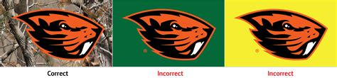oregon state colors beaver logo relations and marketing oregon