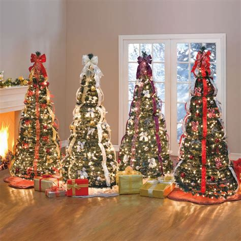 1000 ideas about pre decorated christmas trees on