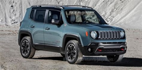 Baby Jeep Car 2015 Jeep Renegade Baby Jeep Leaked