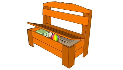 outdoor bench plans storage  woodworking