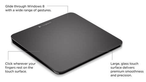 Mouse Eksternal logitech wireless rechargeable touchpad t650 eol 910 003072 mwave au