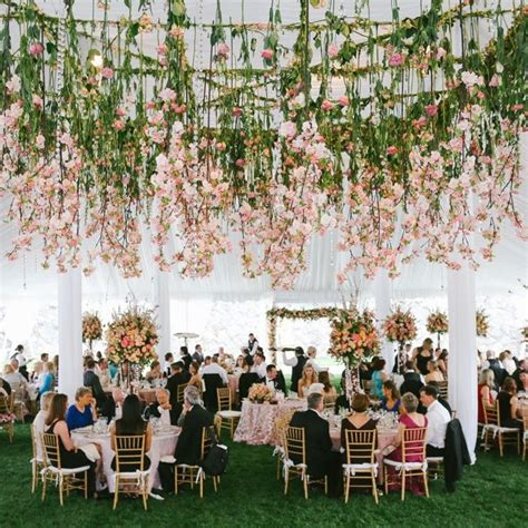 flower decoration for wedding best 25 hanging flowers wedding ideas on pinterest