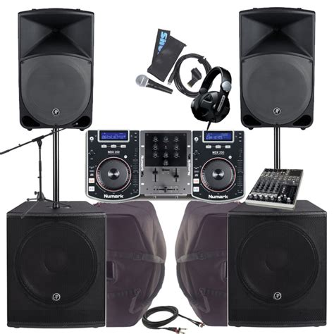 complete dj system with lights 2000w complete dj pa system bundle at gear4music ie