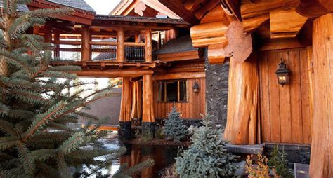 Big Cing Cabins by Timber Kings Log Mansion In Big White Reduced To 6 8