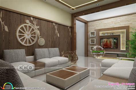 kerala interiors designs living kerala home design