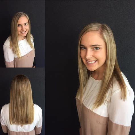 Blunt End Cut Add Texture | blunt end cut add texture women s blonde long blunt cut