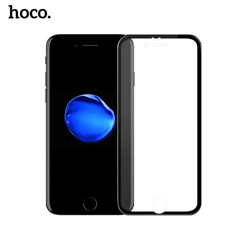 Soft Branded Iphone 6 Plus Free Tempered Glass hoco 3d soft edge 9h hardness tempered glass for iphone 6 6 plus screen protector 0 25mm