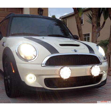 mini cooper light out motoring driving light brackets r56 2007 mini cooper