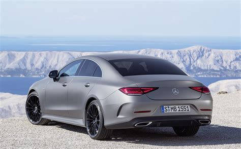 Mercedes Cls 2019 by 2019 Mercedes Cls Facelift Unveiled In Los Angeles