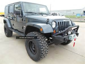 Jeep Wrangler Unlimited Bumper 2008 Jeep Wrangler Unlimited 4x4 Soft Top