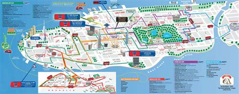 tourist map of new york city maps update 7421539 tourist attractions map in new york