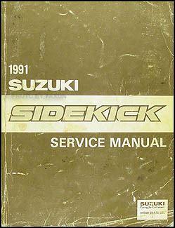 free auto repair manuals 1991 suzuki sidekick lane departure warning 1991 suzuki sidekick repair shop manual original