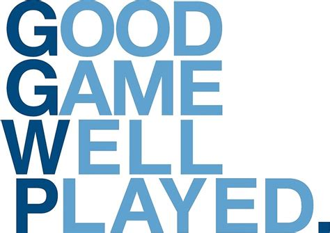 Good Old Games Gift Card - quot good game well played quot greeting cards by ggwp redbubble