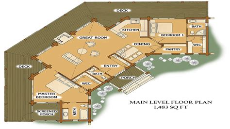 large log home floor plans luxury log cabin home floor plans best luxury log home