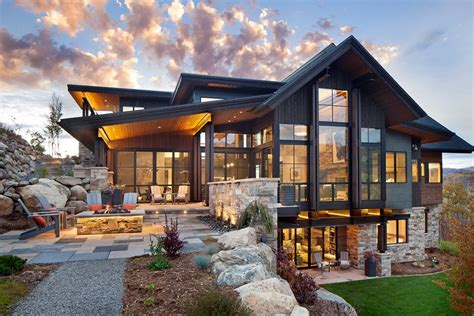 colorado style home plans boulder ridge mountain retreat featuring contemporary elegance