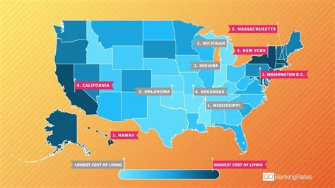 california cost of living map this map shows why the plan from california to new york the cost of living across