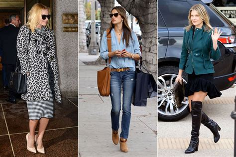 celebrity style the best celebrity winter street style 171 fashion of world