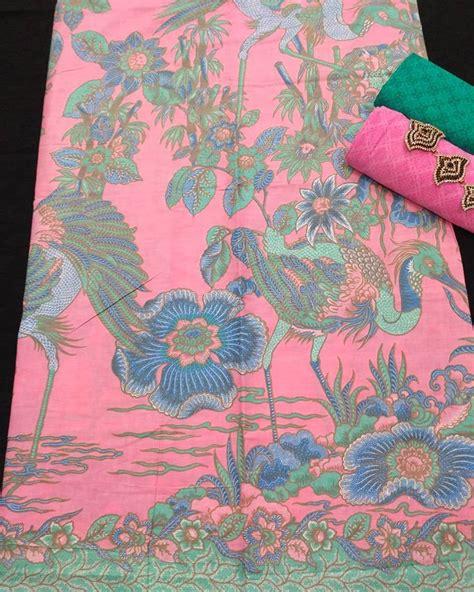 Kain Batik Pastel 2 kain batik pekalongan batik soft pastel motif merak kombinasi embos ka2 46 batik