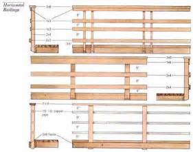 White Banister Rail Horizontal Deck Railing Deck Ideas Pinterest