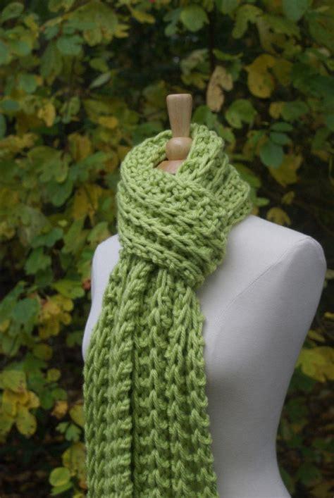 simple pattern knit scarf knit scarf pattern chunky scarf pattern easy knit