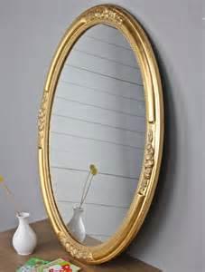 badspiegel oval wandspiegel spiegel oval neu gold holz verzierungen