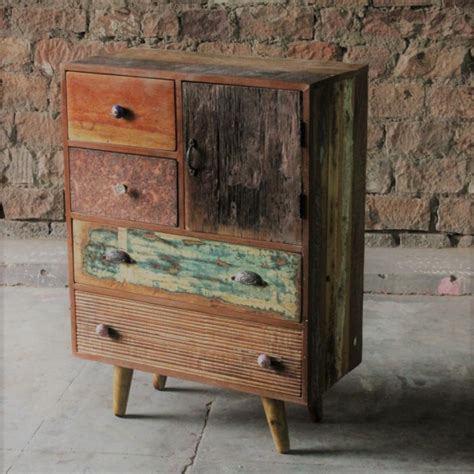 little tree furniture shimla eclectic 6 drawer multi chest shimla eclectic upcycled 5 multi drawer storage chest