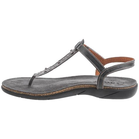 sandals for taos footwear trance leather sandals for save 65