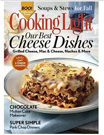 how to cancel cooking light magazine cooking light magazine 12 99 per year my frugal adventures