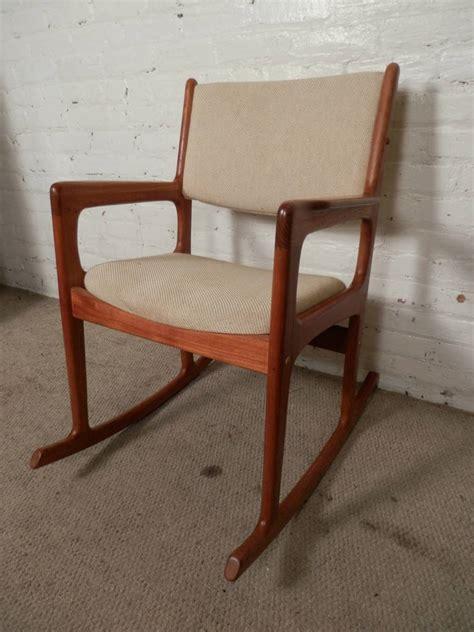 midcentury modern rocking chair vintage mid century modern rocking chair by benny linden