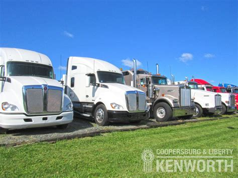 used kw trucks used kenworth trucks repairs coopersburg liberty
