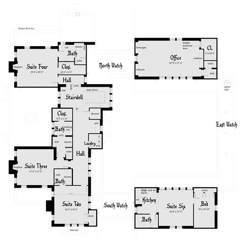 modern castle floor plans castle house plans modern house