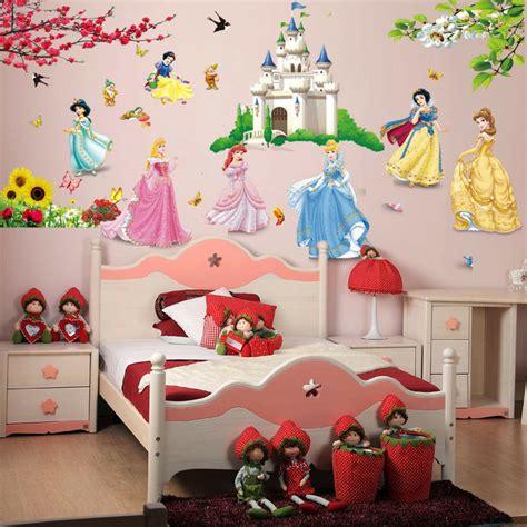 fairy tale princess castle disney kids room girls room decal wall sticker decor ebay
