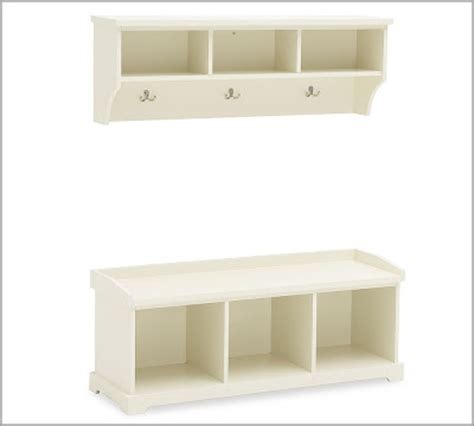 Pottery Barn Entryway Bench And Shelf pottery barn bench and shelf decor look alikes