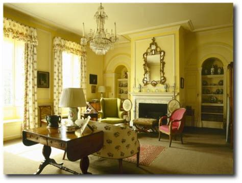 country images interiors regency decorating regency furniture yellow historical
