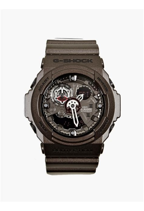 Casio G Shock Grey casio g shock grey retro remix ga 300a 5aer in gray