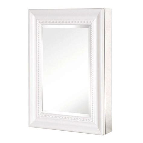 Pegasus 15 in. W Framed Recessed or Surface Mount Bathroom