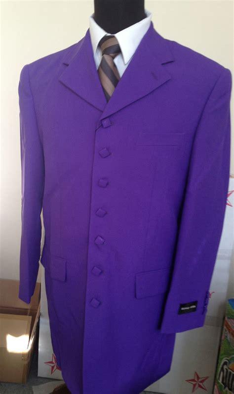 Dpurple Coat Blazer Ungu Korea Jaket s coat jacket 7 square button zoot suit come with purple 903p ebay