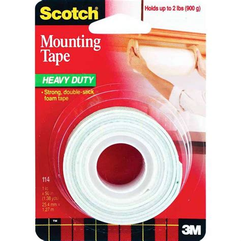 Scotch 3m Mounting 12 Mm X 3m 3m scotch mounting 114 25 4mm x 1 27m