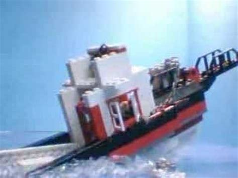 lego boat sinking videos sinking boat youtube