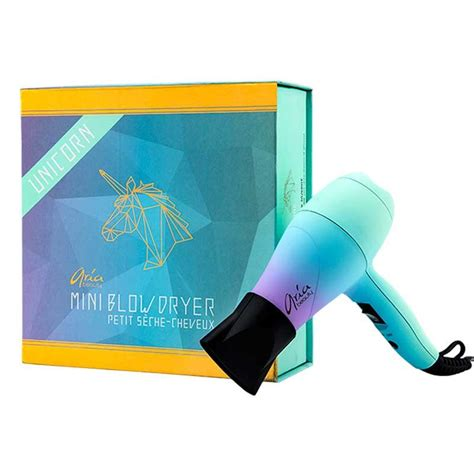 Mini Hair Dryer With Diffuser ariabeauty unicorn mini dryer hair diffuser