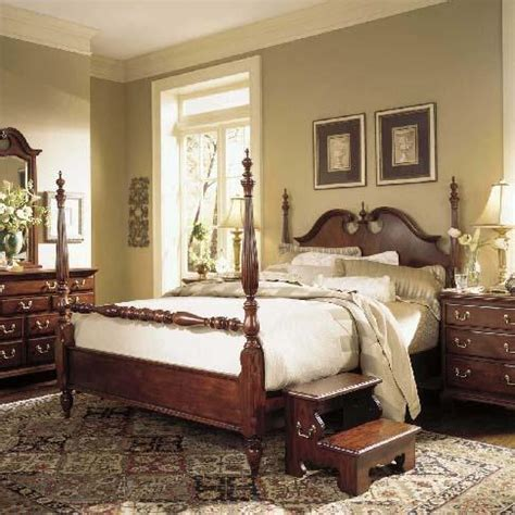cherry grove 45th king low poster bed by american drew