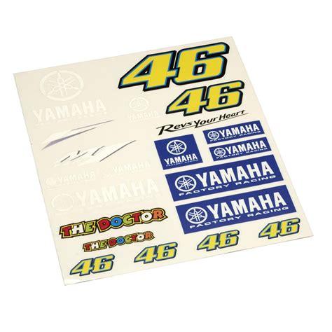 Yamaha Speedblock Aufkleber by Shop 2ri De Yamaha Rossi Aufkleber Bogen