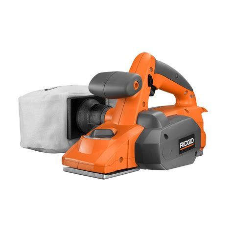 ridgid 18 volt 3 1 4 in cordless planer tool only r848n