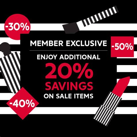 Not To Be Missed 20 At Sephora by Sephora Member Exclusive Cosmetic Sale In Malaysia