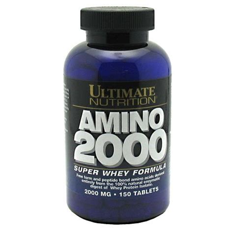 Amino 2000 150 Tablets By Ultimate Nutrition amino 2000 whey formula ultimate nutrition
