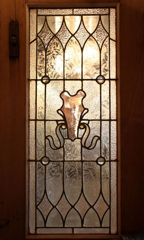 Antique Stained Glass Doors For Sale Splendid Antique Pair Of Chestnut Doors With Stained Glass Early 1900 S Nedd7 Rw For Sale