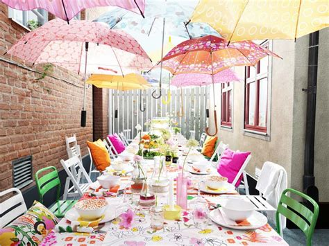 outside party ideas 10 ideas for outdoor parties from ikea skimbaco