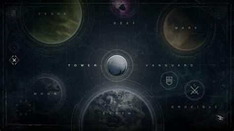 destiny maps my journey into destiny impressions of bungie s new epic