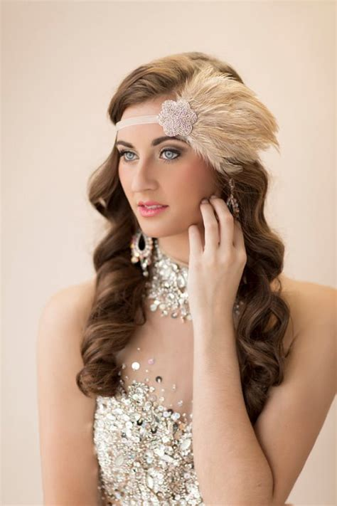 pictures great gatsby styles headpiece for women long glam up your look wedding hair accessories for your big